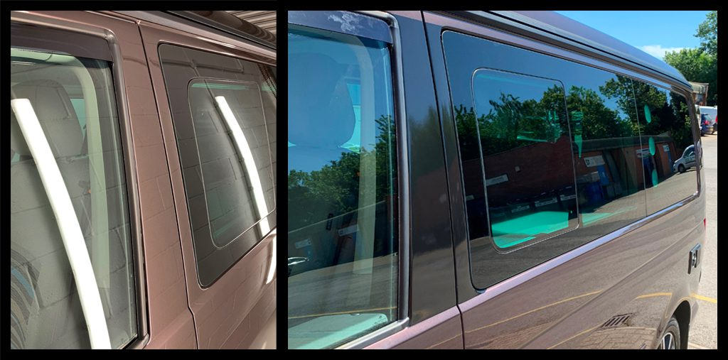 van with tented window class