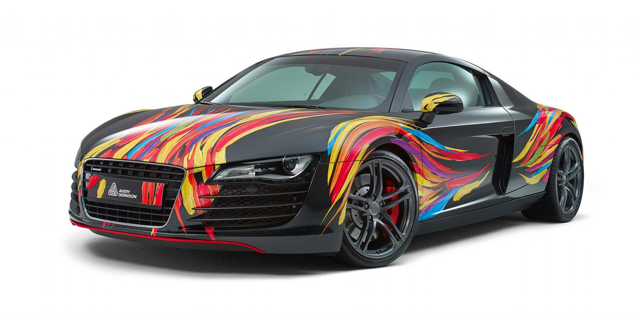 sports car full wrap avery dennison